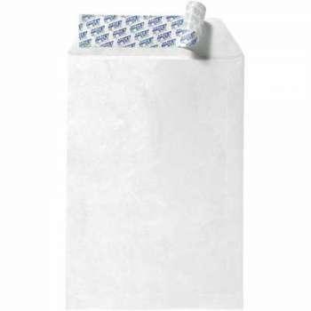 Tašky obchodní C4 - materiál Tyvek, s krycí páskou, 10 ks