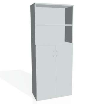 Skříň Hobis STRONG S 5 80 04, šedá/šedá
