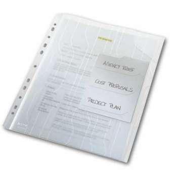 Třídící závěsné desky Leitz Combifile - A4, trasparentní