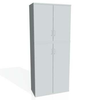 Skříň Hobis STRONG S 5 80 06, šedá/šedá