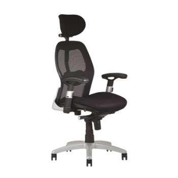 Kancelářská židle Saturn synchro - černá