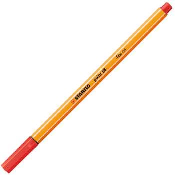 Liner Stabilo point 88 - červená , 10 ks