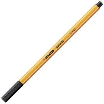 Liner Stabilo point 88 - černý