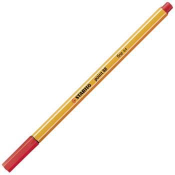 Liner Stabilo point 88 - červený