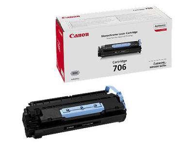 Toner Canon CRG-706 - černá
