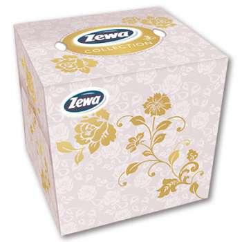 Papírové kapesníčky Zewa - v krabičce, třívrstvé, 60 ks