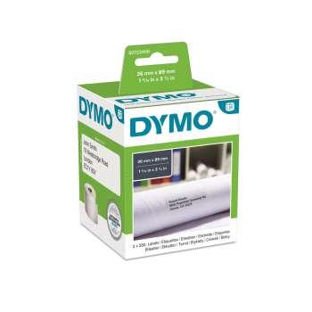 Štítky pro LabelWriter Dymo - 89 x 36 mm, bílá, 2 x 260 ks