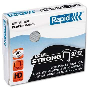 Drátky do sešívaček Rapid Super Strong 9/12, 1000 ks