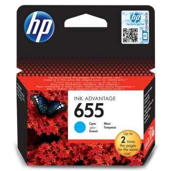 Cartridge HP CZ110AE/655 - azurová