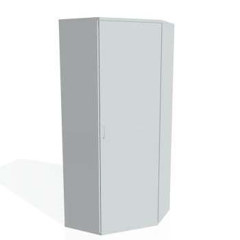 Skříň Hobis STRONG SRV 5 01 pravá, šedá/šedá