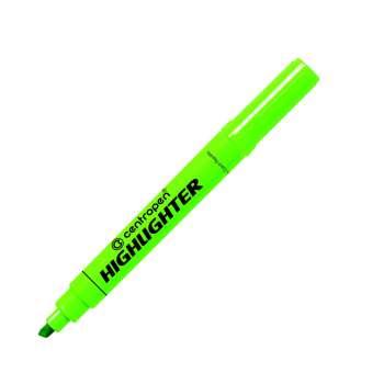 Zvýrazňovač Centropen 8552 - zelený, 10 ks