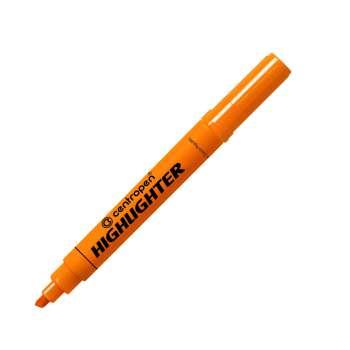 Zvýrazňovač Centropen 8552 - oranžový, 10 ks