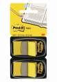 Samolepicí záložky Post-it dvojbalení, žluté