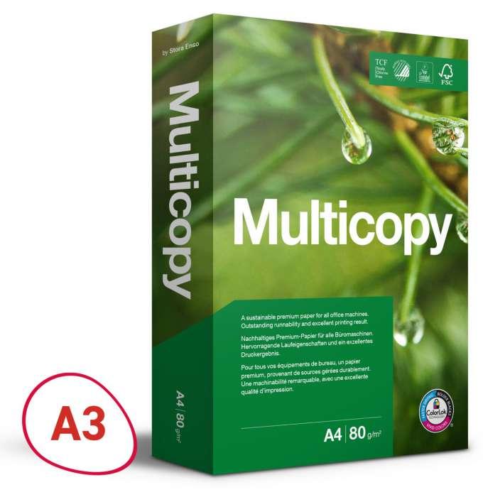 Kancelářský papír MultiCopy ORIGINAL - A3, 80 g, 500 listů ... Multicopy