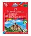 Pastelky Faber-Castell, sada 24 barev
