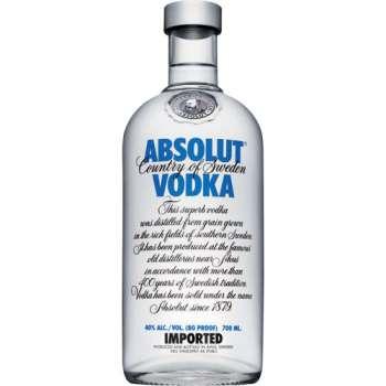 Vodka Absolut, 0,7 l