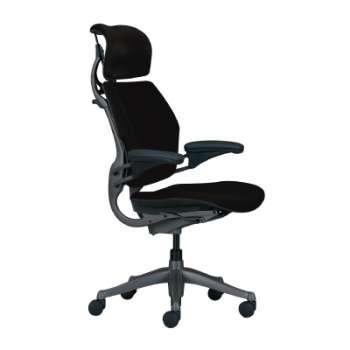 Kancelářská židle Freedom - černá