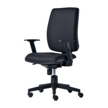 Kancelářská židle Alfa 730 synchro - černá