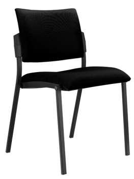 Konferenční židle Kubic - černá