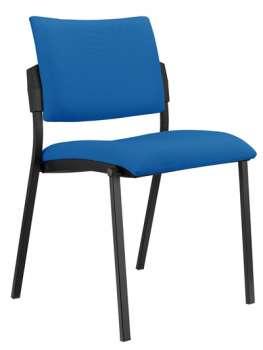 Konferenční židle Kubic - modrá