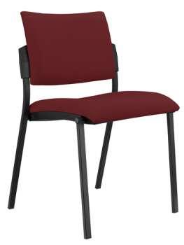 Konferenční židle Kubic - bordó