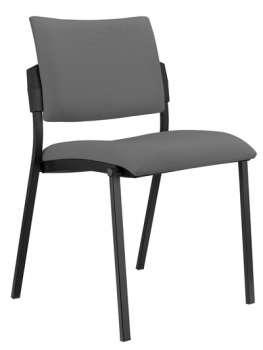 Konferenční židle Kubic - šedá