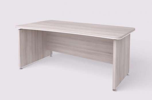 Psací stůl Lenza WELS 1800 zúžení vpravo, světlý akát