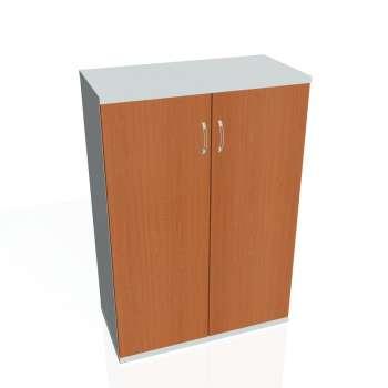 Skříň Hobis STRONG S 3 80 01, třešeň/šedá