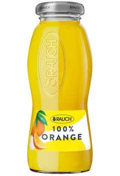Rauch džus -  pomeranč s dužinou, ve skle, 24 x 0,2 l