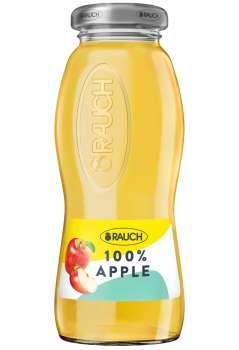 Rauch džus - jablko, ve skle, 24 x 0,2 l