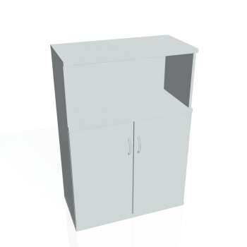 Skříň Hobis STRONG S 3 80 02, šedá/šedá
