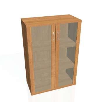 Policová skříňka Strong , prosklené dveře