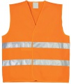 Reflexní vesta - oranžová, vel. UNI