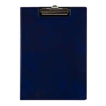 Dvojdeska s klipem A4, lesklá modrá