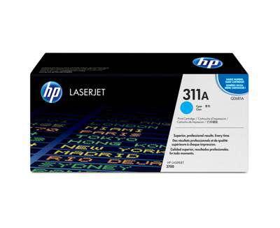Toner HP Q2681A/311A - azurová