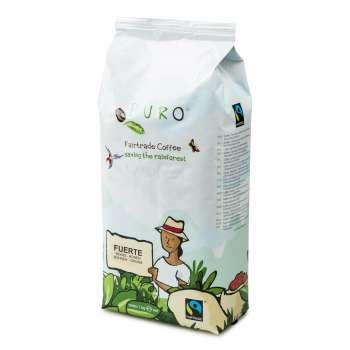 Zrnková káva Fairtrade Puro Fuerte Espresso - 1000 g