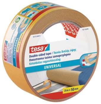 Lepicí páska Tesa - oboustranná, 50 mm x 25 m