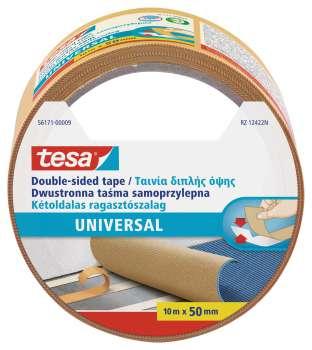 Lepicí páska Tesa - oboustranná, 50 mm x 10 m