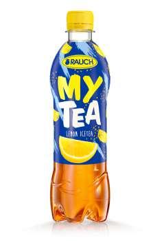 Ledový čaj Rauch - citron, 12 x 0,5 l
