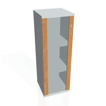 Skříňka policová Strong, prosklené dveře
