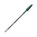Kuličkové pero BIC Cristal – zelená