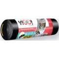 Pytle na odpadky se zatahovací páskou - 30 l, 20 ks, 14 mic