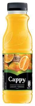 Džus Cappy - pomeranč 100%, 0,33 l, 12 ks
