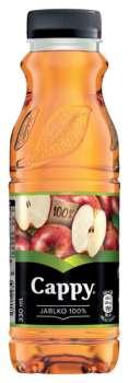 Džus Cappy - jablko 100%, 0,33 l, 12 ks