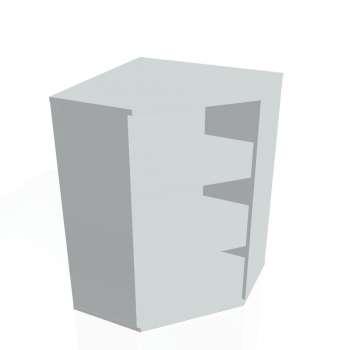 Skříň Hobis STRONG SRV 3, šedá