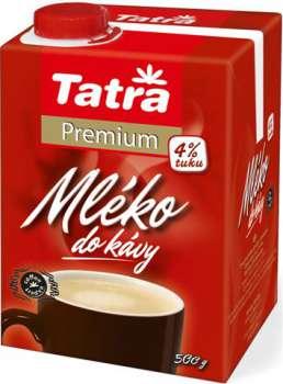 Mléko do kávy 4% Tatra Premium, 500g