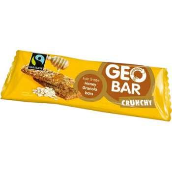 Fair Trade - cereální tyčinka Geobar s medem, 42 g
