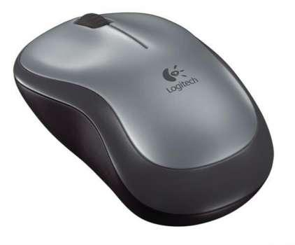 Bezdrátová myš Logitech M185 - optická, šedá