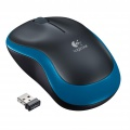 Bezdrátová myš Logitech M185 - optická, modrá