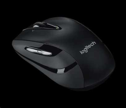 Bezdrátová myš Logitech M560 - laserová, černá